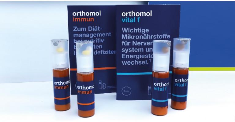 Сравнительная характеристика состава витаминного комплекса Orthomol Immun с витаминным комплексом Orthomol Vital