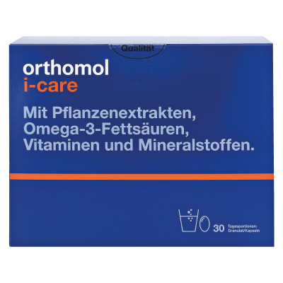 Orthomol I-CAre – профилактика и лечение вирусных и инфекционных заболеваний