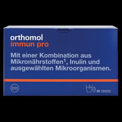 Orthomol Immun Pro – восстановление микрофлоры кишечника