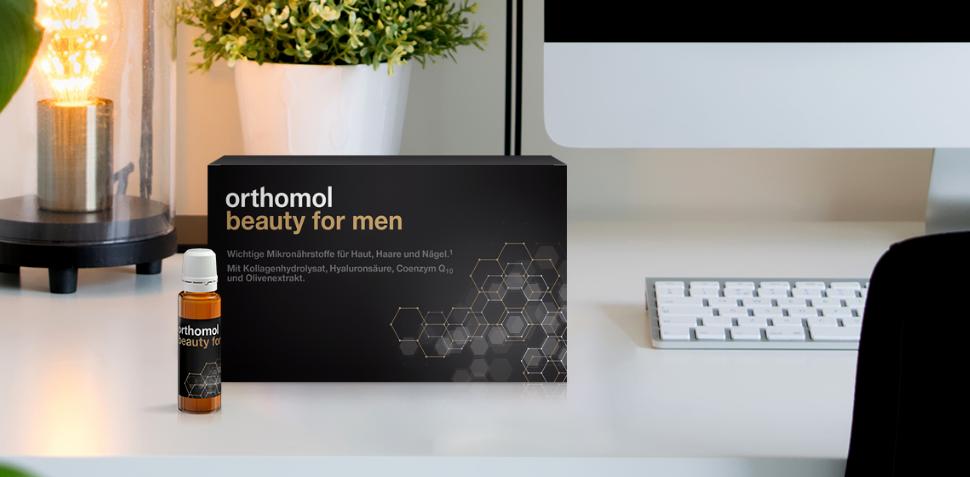 Orthomol Beauty for Men Виглядай добре - по-чоловічому!